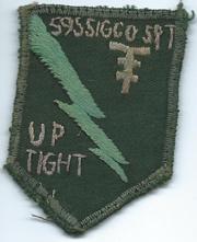 Vietnam 595th Signal Company Pocket Patch