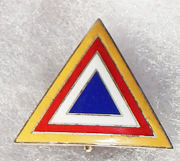 ASMIC 1950's Training Realtions Indochina Mission Pocket Badge
