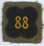 WWI 88th Division Patch