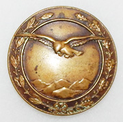 Pre-WWI Austian - Hungarian Aviation Observors Badge