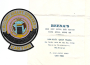 Vietnam Military Sealift Command Can Tho Beercan Plaque Piece In Original Shop Bag