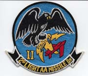 US Marine Corps 2nd Light Anti-Aircraft Missile Battalion Patch