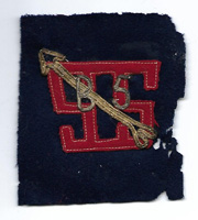 WWI Base Unit 5 Service And Supply Patch