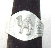 WWII Italian Army Sahara Camel Ring