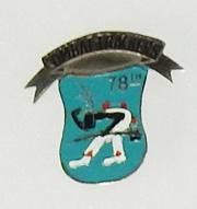 Vietnam 78th Combat Tracker Beercan DI