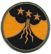 WWII Philippines 1st Filippino Battalion OD Border Patch