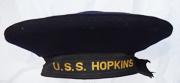 Pre-WWII US Navy USS Hopkins (DD-249) Pre-WWII Navy Flat Hat