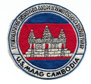 Vietnam Era MAAG Cambodia Oversized Pocket Patch