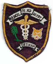 Vietnam 32nd Medical Depot Pocket Patch