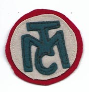 WWI Motor Transport Corps Hat Size Patch