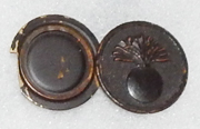 WWI Ordnance Photo Locket Enlisted Collar Disc