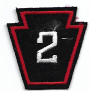 WWII 2nd Regiment Pennsylvania State Guard Patch