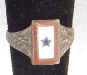 WWI Son In Service Ring