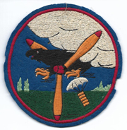 WWII Army Air Forces 89th Bomb Squadron 3rd Bomb Group Australian Made Squadron Patch