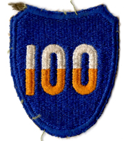WWII 100th Division Patch