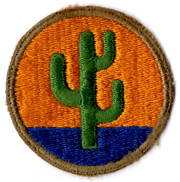 WWII 103rd Division Patch