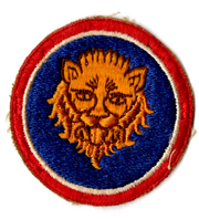 WWII 106th Division Patch