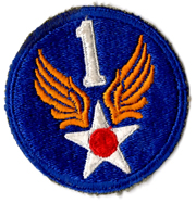 WWII AAF 1st Air Force Patch