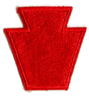 WWII 28th Division Patch