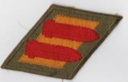 WWII 2nd Coast Artillery Greenback Patch