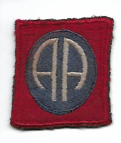WWII 82nd Airborne Division English Made Patch