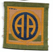 WWI 82nd Division Liberty Loan Patch