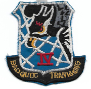 South Vietnamese IV Air Division Patch