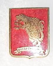 WWII - Occupation 817th Tank Battalion Theatre Made DI