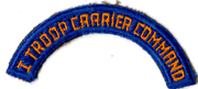 WWII 1st Troop Carrier Command Arc / Patch
