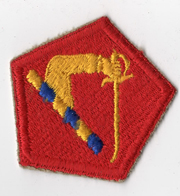 1950's-60's Massachusetts National Guard Patch