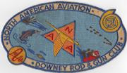 1950's-60's North American Aviation / NAA  Downey California Rod & Gun Club Patch