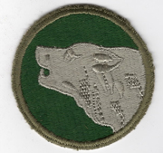 WWII 104th Division Patch