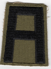 WWII 1st Army Patch