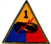WWII 1st Armor Division Patch