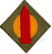 WWII 1st Coast Artillery Patch