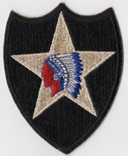 WWII 2nd Division Patch