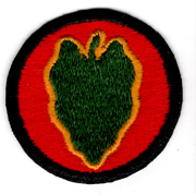 WWII 24th Division Patch