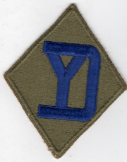 WWII 26th Division Patch