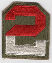 WWII 2nd Army Patch