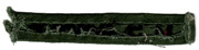 Vietnam US Army In-country Made Branch Strip