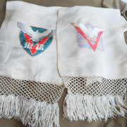 WWII Chinese Army End Of War / Victory Silk Scarf