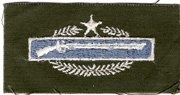 1960's US Army One Star CIB / Combat Infantrymans Badge Patch