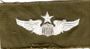 1960's US Air Force Command Pilot Wing  Patch