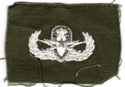 1960's US Army Senior EOD Qualification Patch