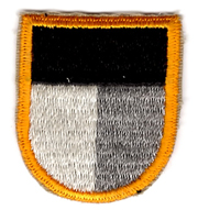 Vietnam Era JFK Special Warfare Center Special Forces Beret Flash