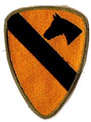 WWII 1st Cavalry Division Patch