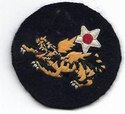 WWII 14th Air Force Indian Made Patch