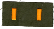 1960's US Army 2nd Lt / Lieutenant Officers Rank Patch
