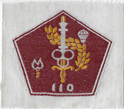 South Vietnamese Army / ARVN 110th Airborne Quartermaster Directorate Patch