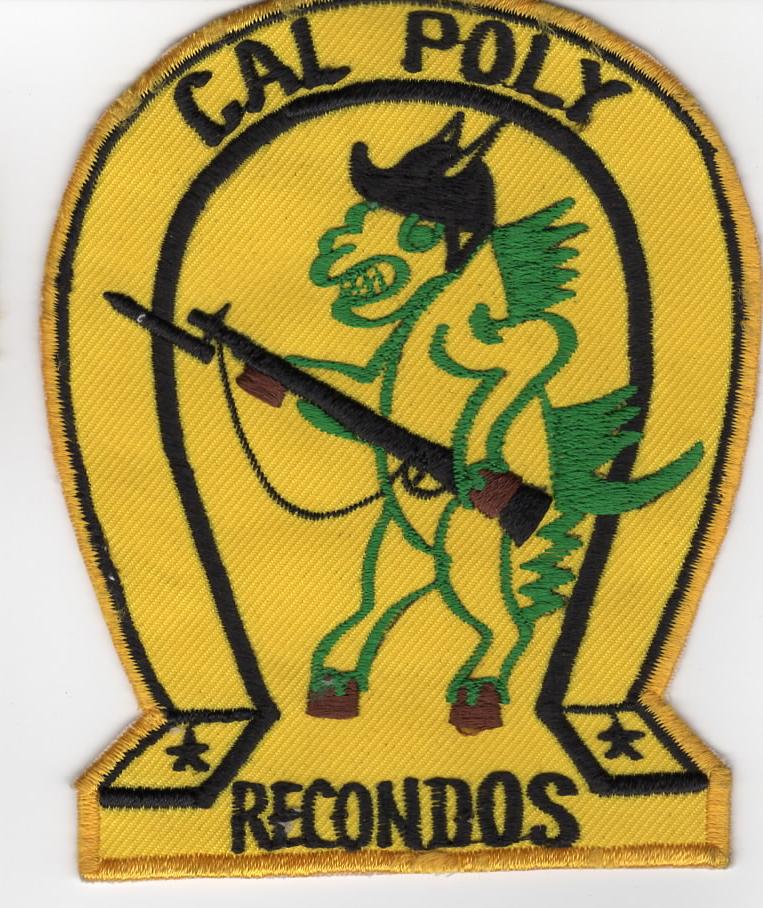 Cal Poly Pomona Recondos ROTC Japanese Made Patch